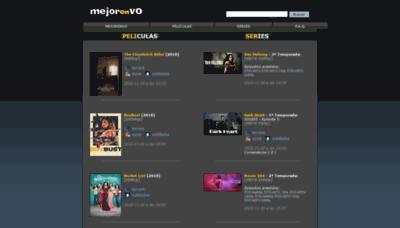 What Mejorenvo.org website looked like in 2018 (2 years ago)