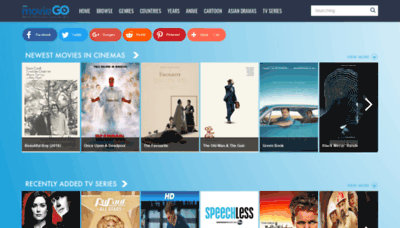 What Moviego.net website looked like in 2019 (2 years ago)
