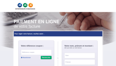 What Mmapay.fr website looked like in 2019 (2 years ago)