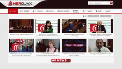 What Merojax.tv website looked like in 2019 (2 years ago)