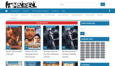 What Moviesevil.cc website looked like in 2019 (2 years ago)
