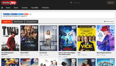 What Moviesjoy.net website looked like in 2019 (2 years ago)