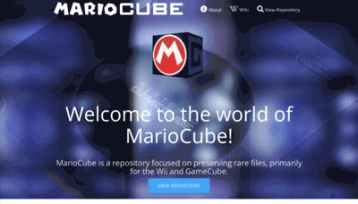 What Mariocube.xyz website looked like in 2019 (2 years ago)