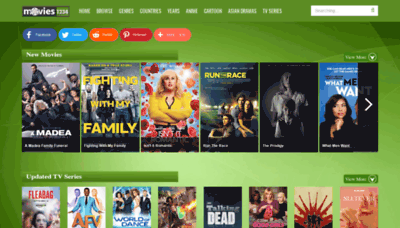 What Movies1234.net website looked like in 2019 (2 years ago)