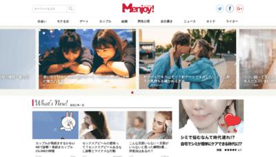 What Men-joy.jp website looked like in 2019 (2 years ago)