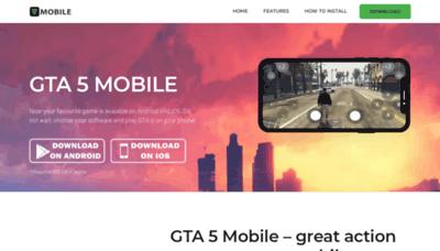 What Mobilegta5.net website looked like in 2019 (2 years ago)
