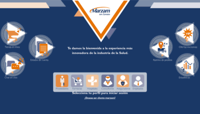 What Marzamenlinea.com.mx website looked like in 2019 (2 years ago)