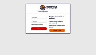 What Myump.ump.ac.za website looked like in 2019 (2 years ago)