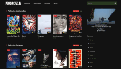 What Miracula.tv website looked like in 2019 (2 years ago)