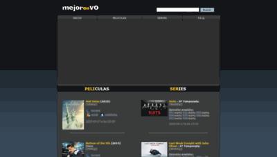 What Mejorenvo.org website looked like in 2019 (1 year ago)