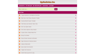 What Mp3indirdur.pro website looked like in 2019 (1 year ago)