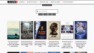 What Moviespoint.in website looked like in 2019 (1 year ago)