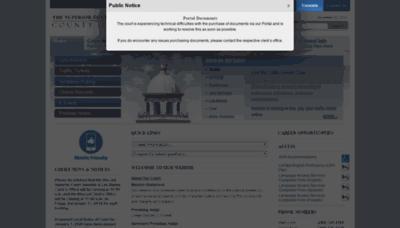 What Mercedcourt.org website looked like in 2019 (1 year ago)