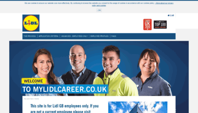 What Mylidlcareer.co.uk website looked like in 2019 (1 year ago)