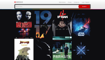 What Masflix.us website looked like in 2020 (1 year ago)