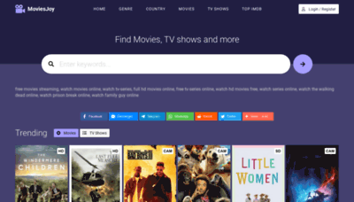 What Moviesjoy.net website looked like in 2020 (1 year ago)
