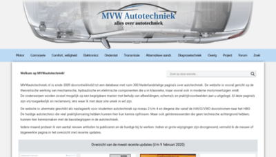 What Marcovw.nl website looked like in 2020 (1 year ago)