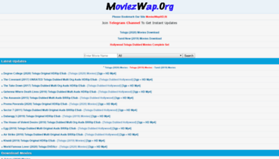 What Moviezwaphd.pw website looked like in 2020 (1 year ago)