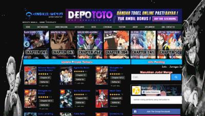 What Mangaku.in website looked like in 2020 (1 year ago)
