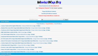 What Moviezwaphd.info website looked like in 2020 (1 year ago)