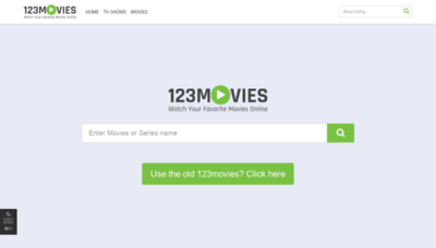 What Movies12345.xyz website looked like in 2020 (1 year ago)