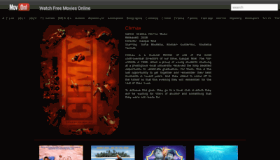 What Mov.onl website looked like in 2020 (1 year ago)