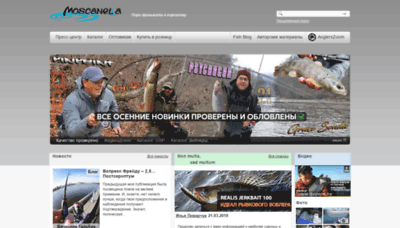What Moscanella.ru website looked like in 2020 (1 year ago)