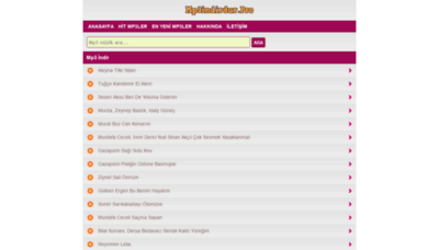 What Mp3indirdur.pro website looked like in 2020 (1 year ago)
