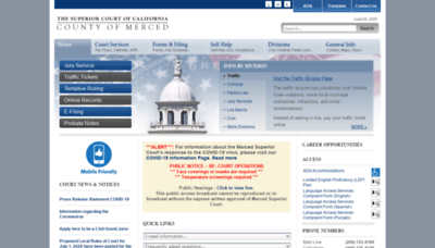 What Mercedcourt.org website looked like in 2020 (1 year ago)