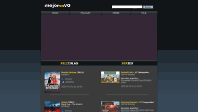 What Mejorenvo.org website looked like in 2020 (This year)