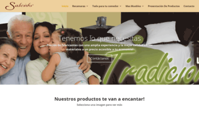 What Mueblesalcido.com.mx website looked like in 2020 (This year)