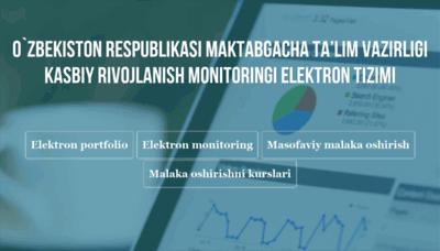 What My.mdomoi.uz website looked like in 2020 (1 year ago)