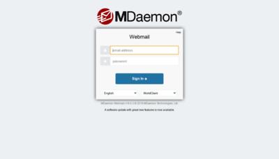 What Mail1.krakatauwajatama.co.id website looked like in 2020 (1 year ago)