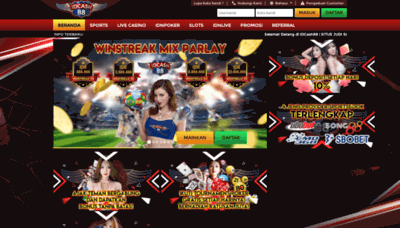 What Mahkota88.net website looked like in 2020 (1 year ago)
