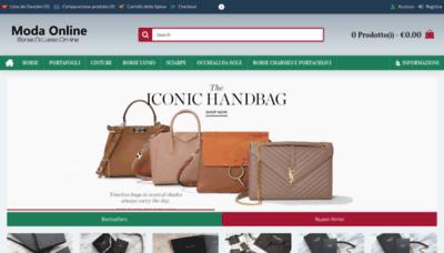 What Modacina.ru website looked like in 2020 (1 year ago)