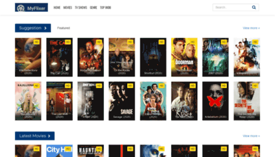 What Myflixer.pro website looked like in 2020 (1 year ago)