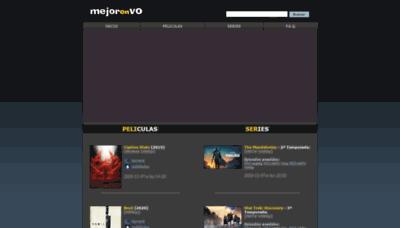 What Mejorenvo.net website looked like in 2020 (This year)