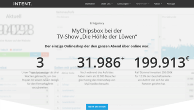 What Mychipsbox.de website looked like in 2020 (This year)