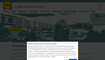 What Mylidlcareer.co.uk website looked like in 2020 (This year)