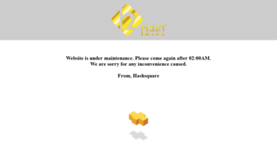 What Member.hashsquare.io website looks like in 2021
