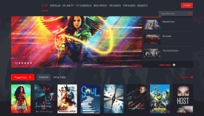 What Masflix.us website looks like in 2021