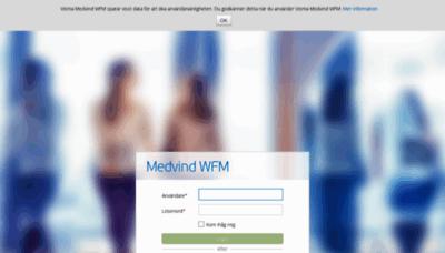 What Medvind.soderhamn.se website looks like in 2021