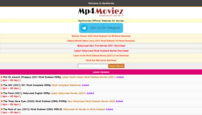 What Mp4moviez2.net website looks like in 2021
