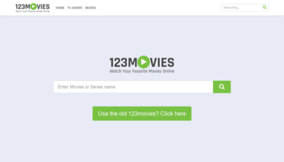 What Movies12345.xyz website looks like in 2021