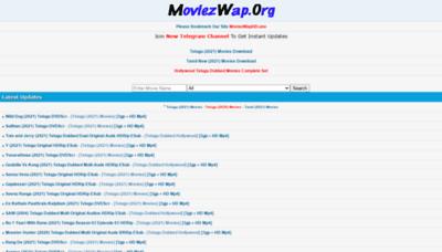 What Moviezwaphd.info website looks like in 2021