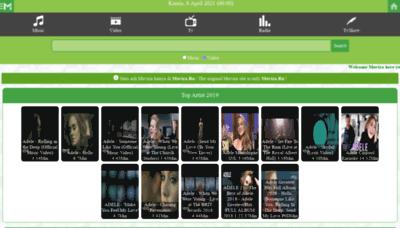 What Muviza.ru website looks like in 2021