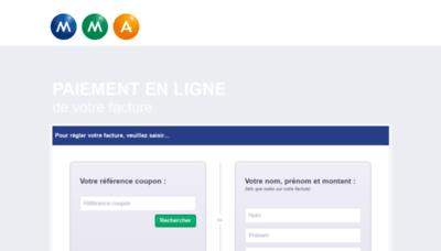 What Mmapay.fr website looks like in 2021