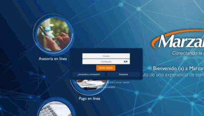 What Marzamenlinea.com.mx website looks like in 2021