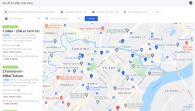 What Map-vn.lel.asia website looks like in 2021