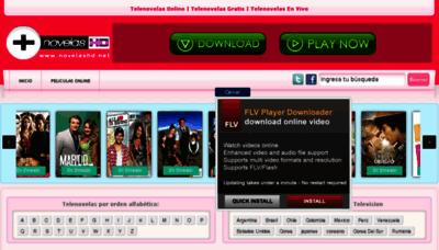 What Novelasgratis.tv website looked like in 2013 (7 years ago)